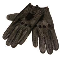 Перчатки автомобильные из натуральной кожи оленя