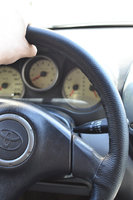 Оплетка зашивающаяся на руль (натуральная кожа)