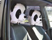 Чехлы на подголовник Панда (2 шт)