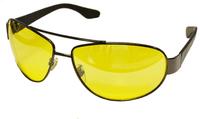 """Жёлтые поляризационные очки водителя """"Mazarini"""" 6360c2"""