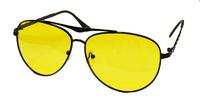 """Жёлтые поляризационные очки водителя """"Mazarini"""" m044"""