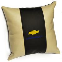 Подушка из экокожи Chevrolet