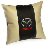 Подушка из экокожи Mazda