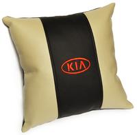 Подушка из экокожи Kia