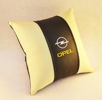 Подушка из экокожи Opel