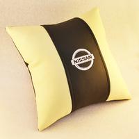 Подушка из экокожи Nissan