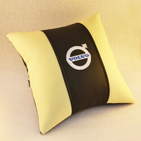 Подушка из экокожи Volvo
