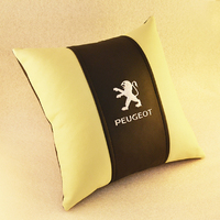 Подушка из экокожи Peugeot