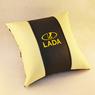 Подушка из экокожи Lada