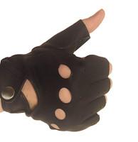Перчатки водительские из кожи оленя
