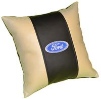 Подушка из экокожи Ford