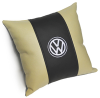 Подушка из экокожи в салон