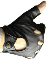 Автомобильные перчатки из кожи козы