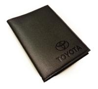 Обложка на автодокументы с логотипом Toyota